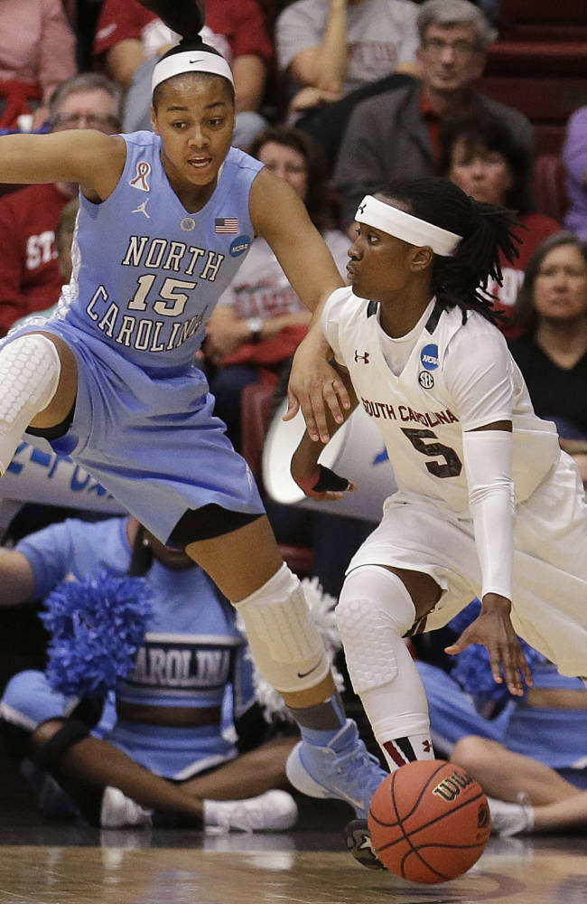 South Carolina's year ends against North Carolina