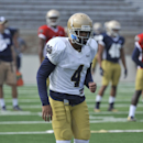 Ex-Notre Dame player Hardy makes it official: He's a Falcon The Associated Press