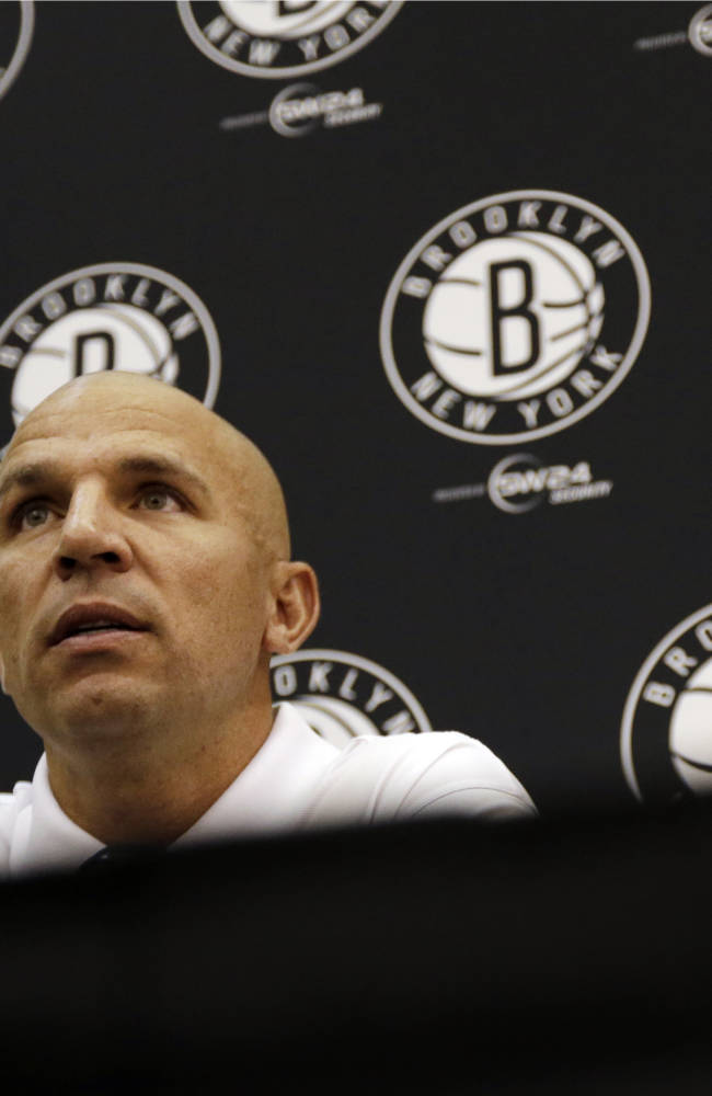 Kidd nervous, excited about coaching Nets
