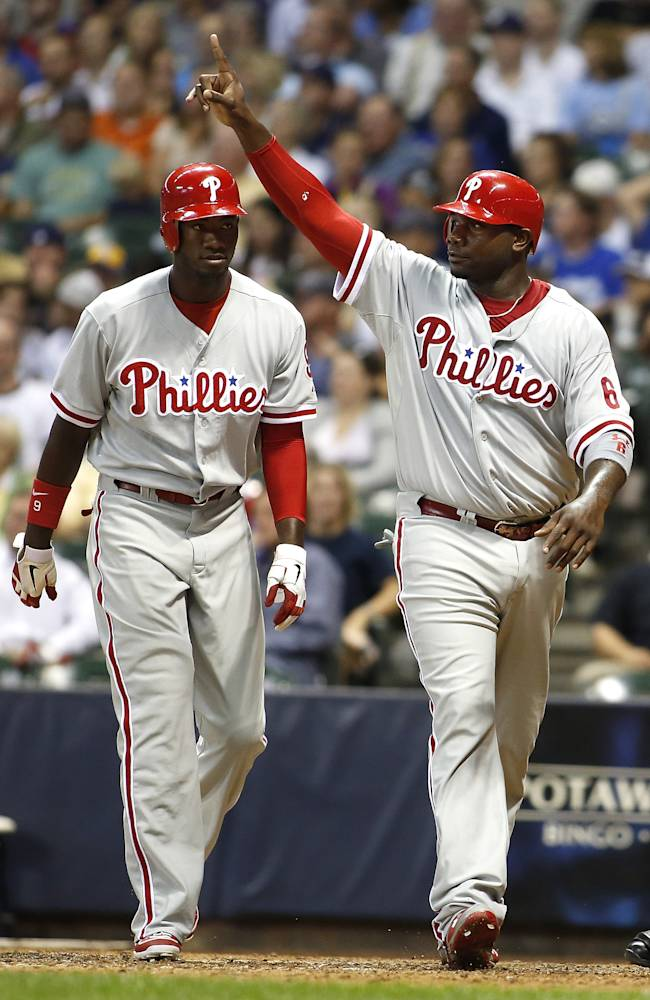 Philadelphia Phillies v Milwaukee Brewers