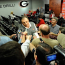 Georgia defensive coordinator Todd Grantham speaks with the media during a national signing day news conference in Athens, Ga., Wednesday, Feb. 6, 2013. (AP Photo/The Athens Banner-Herald, AJ Reynolds)