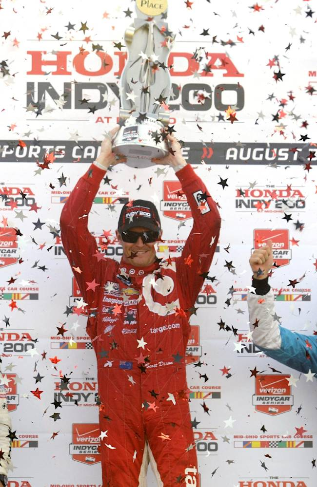 Scott Dixon wins 5th Mid-Ohio IndyCar in 8 years