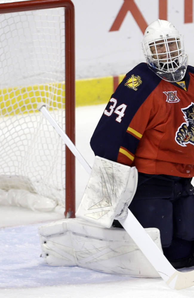 Panthers beat Wild 2-1 in SO to snap 3-game skid
