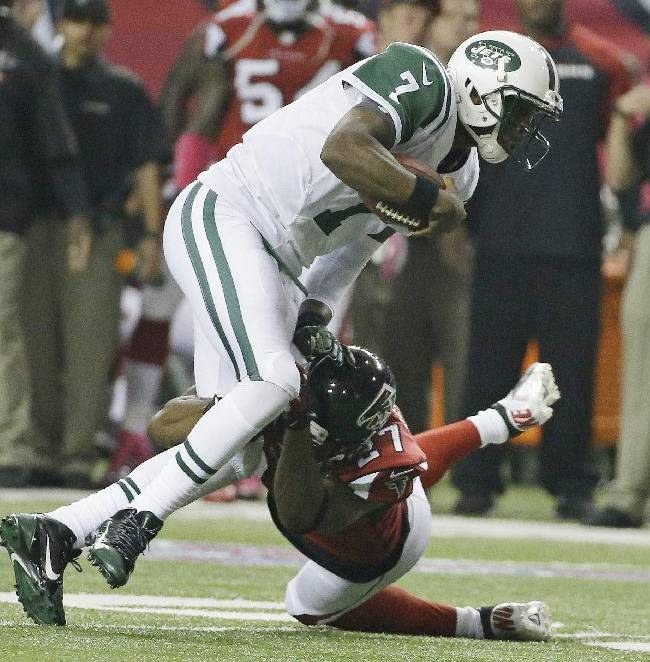 5 things to know after Jets edge Falcons 30-28