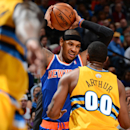 Anthony misses last-second jumper, Nuggets hang on The Associated Press