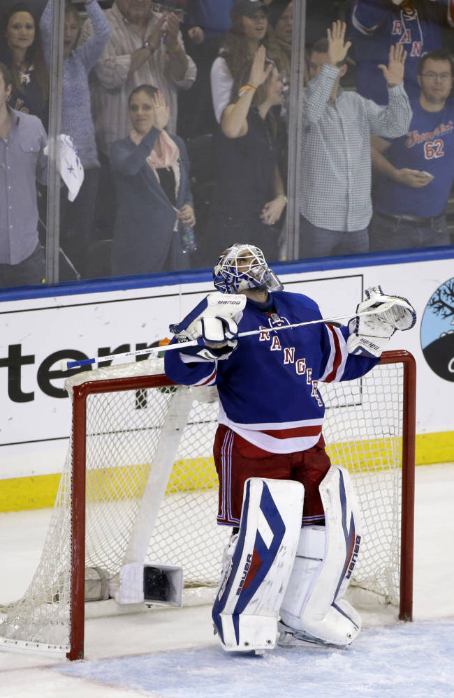 Rangers look to pull off comeback against Penguins
