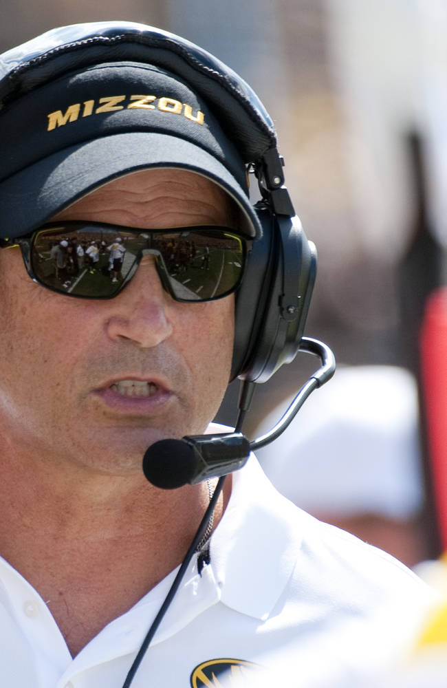 Missouri's Pinkel to face former school Toledo