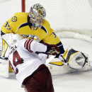 Ellis' shootout goal leads Nashville over Arizona The Associated Press