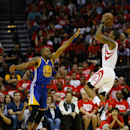 Golden State Warriors v Houston Rockets - Game Four Getty Images