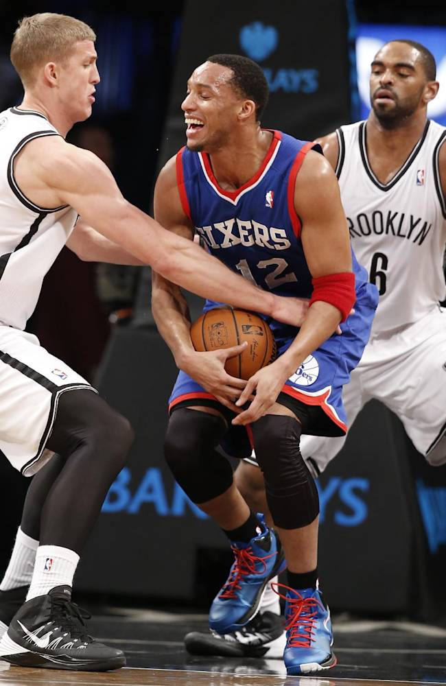 Nets hold off 76ers 108-102 to end 3-game skid