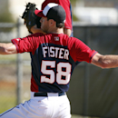 Washington Nationals pitcher Doug Fister throws during a spring training baseball workout, Monday, Feb. 17, 2014, in Viera, Fla The Associated Press