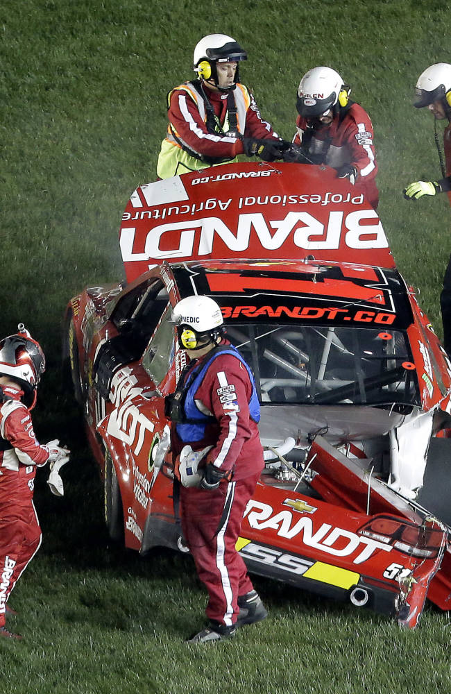 Allgaier to sit out Sprint Showdown after 3 wrecks
