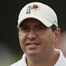 Washington Redskins owner Dan Snyder attends a workout at the NFL football team's training camp at Redskins Park, Tuesday, Aug. 3, 2010, in Ashburn, {Va}. (AP Photo/Carolyn Kaster)