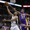 Hill leads Lakers over Spurs in finale, 113-100 The Associated Press