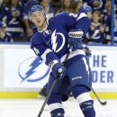 Stamkos returns from broken leg The Associated Press