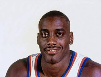 MINNEAPOLIS, MN - 1994: Anthony Mason #14 of the New York Knicks poses for a photo during media day on October 1, 1994 in New York, New York. (Photo by NBA Photos/NBAE via Getty Images)