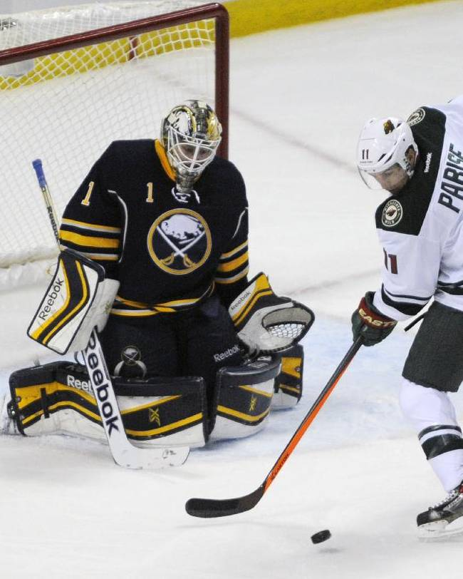 Pominville, Wild hold off winless Sabres 2-1