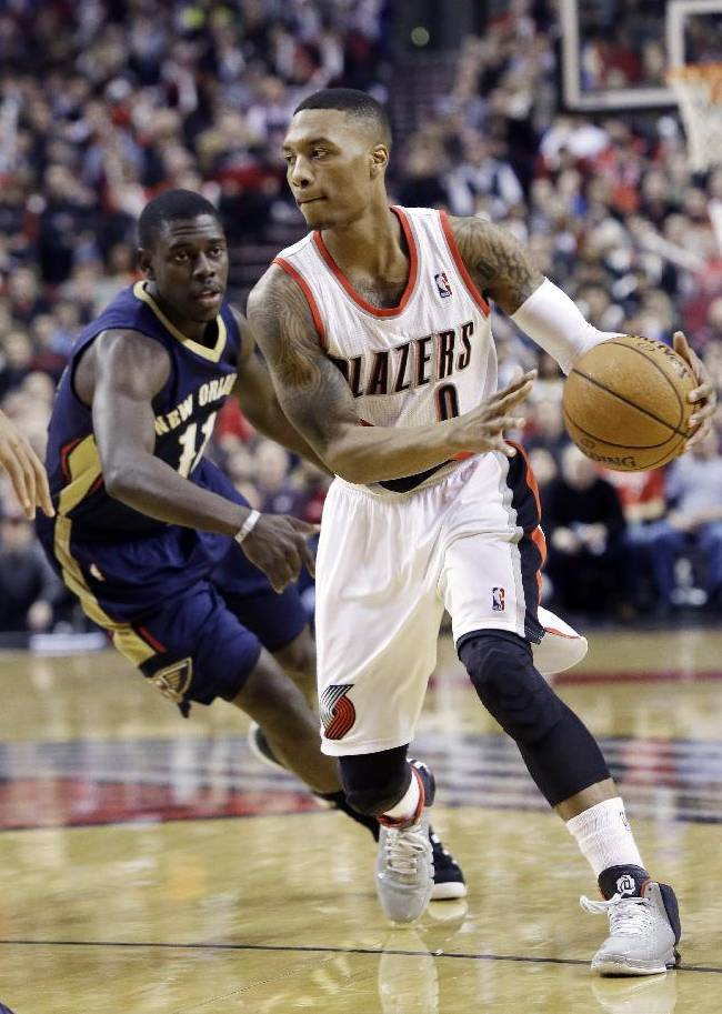 Lillard has 29 and Blazers edge Pelicans 110-107