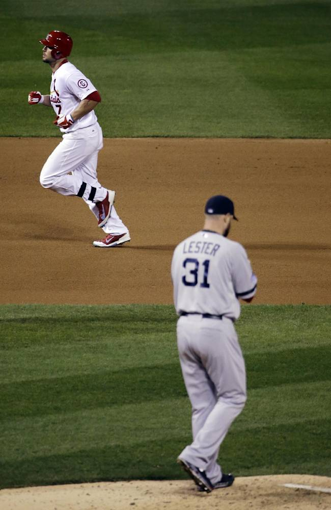 Lester, Red Sox beat Cards, lead World Series 3-2