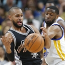 Golden State Warriors v San Antonio Spurs Getty Images