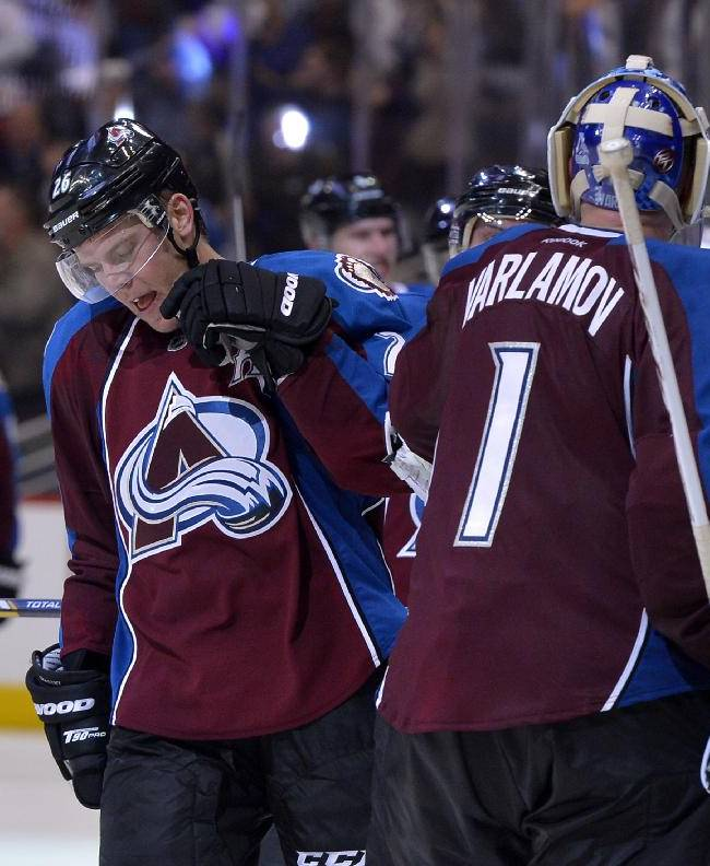 Stastny leads Avs to 5-4 OT win over Wild