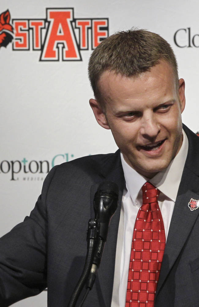 Boise State hires Harsin as football coach