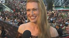 Mireille Enos' 'World War Z' NYC Premiere