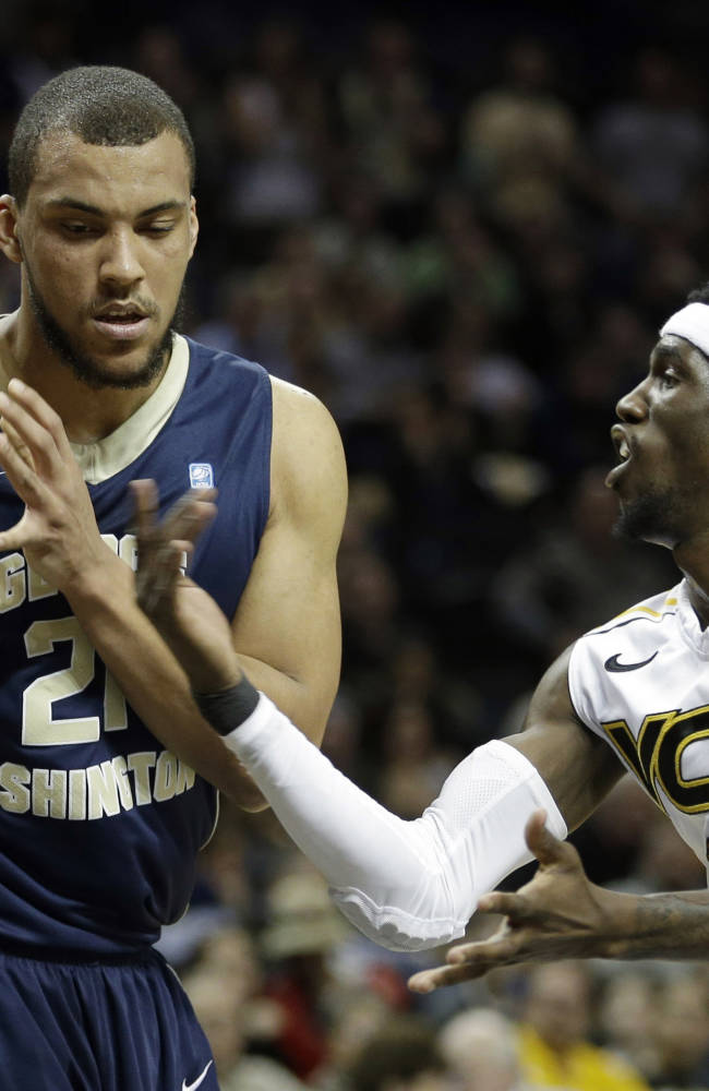 No. 23 VCU beats GW 74-55 in A-10 semifinals