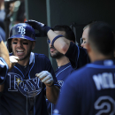 Joyce homers twice as Rays beat Orioles 12-7 The Associated Press
