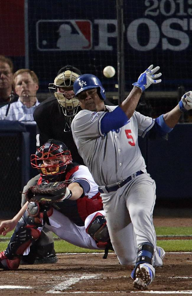 Kershaw pitches Dodgers past Braves 6-1 in Game 1