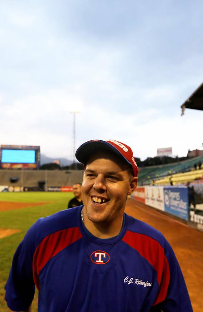 In this Nov. 27, 2013 photo, C.J. Retherford, a 28-year-old Arizona native, nicknamed