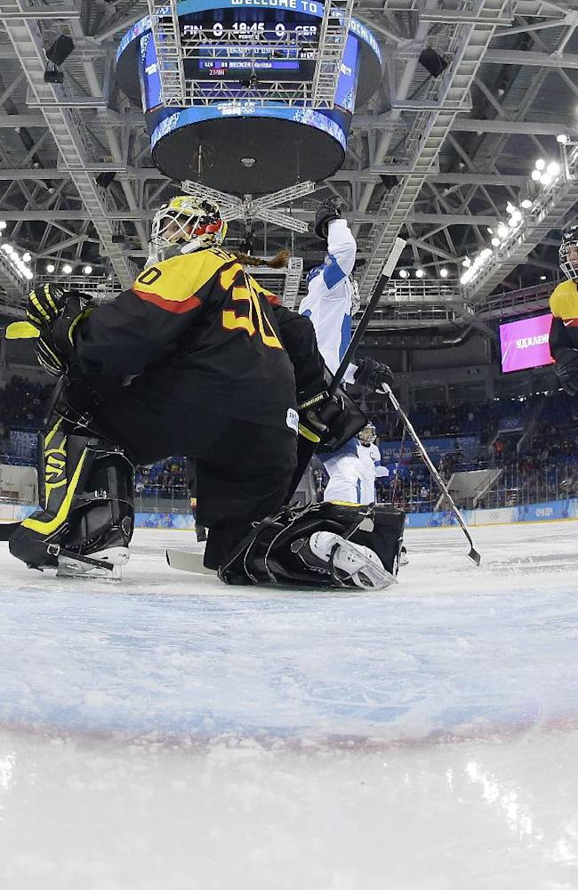 Finland 2, Germany 1 in women's hockey consolation