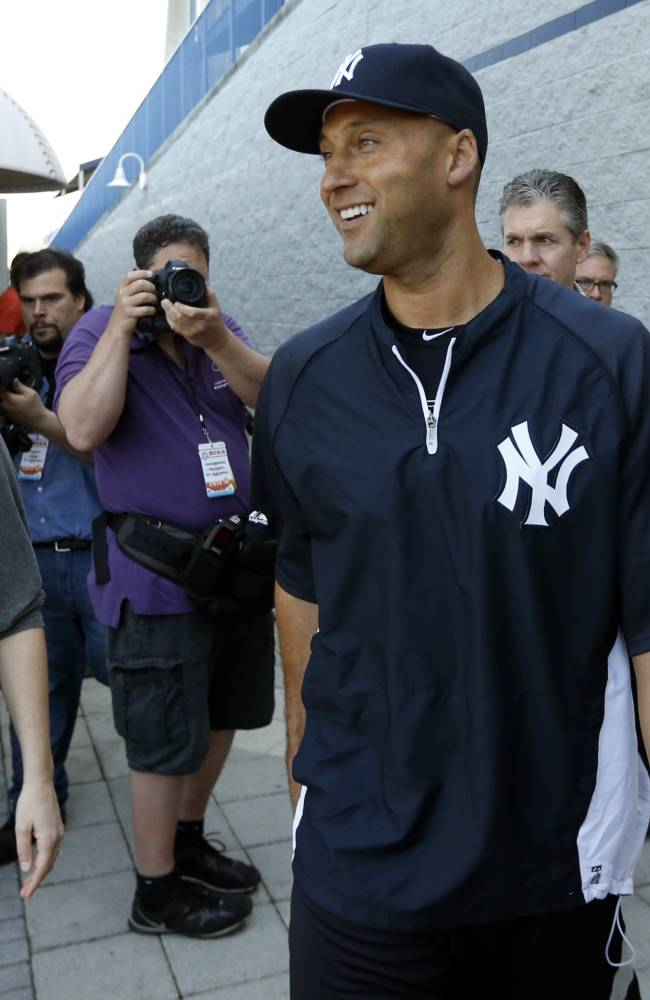 Derek Jeter Media Availability