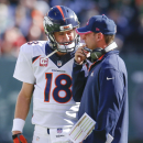 Peyton Manning starting for Broncos vs Bengals The Associated Press
