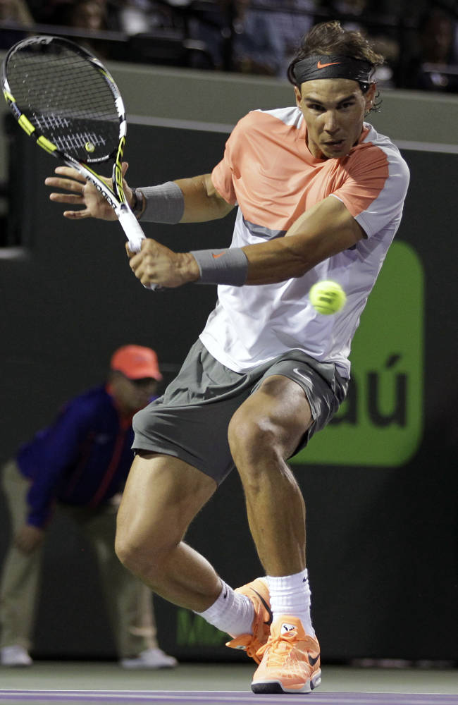 Nadal to face Djokovic in Sony Open final