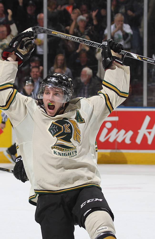 Seth Griffith #17 of the London Knights