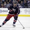 FILE- In this Oct. 25, 2013 file photo, Columbus Blue Jackets' Marian Gaborik, of Slovakia, plays against the Toronto Maple Leafs in an NHL hockey game in Columbus, Ohio. The Los Angeles Kings have acquired veteran goal-scorer Gaborik. The Blue Jackets g