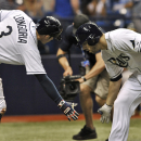 Longoria helps power Rays past A's 5-2 The Associated Press