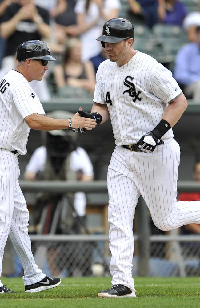 Dunn dealt to A's, could be his last shot playoffs
