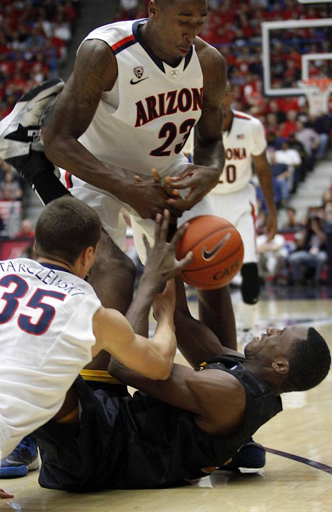 No. 6 Arizona rolls 91-57 over Long Beach State