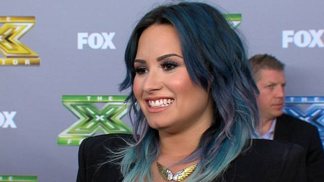 Demi Lovato Dishes On Her Decision To Leave 'The X Factor'