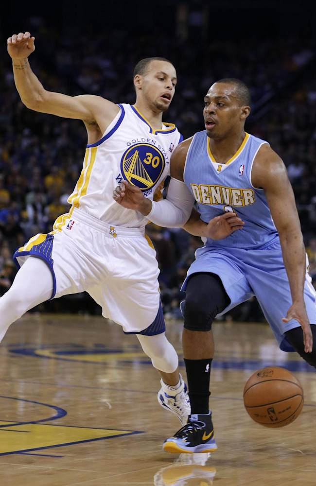 Nate Robinson leads Nuggets past Warriors, 123-116