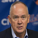 File- This Sept. 30, 2013, file photo shows New York Mets general manager Sandy Alderson. A person with knowledge of the deal says the New York Mets and Alderson have agreed to a multiyear contract. The person spoke on condition of anonymity Monday, Sept. 22, 2014, because no announcement had been made. Alderson's new deal is expected to be announced in the coming days. (AP Photo/John Minchillo, File)