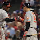 Baltimore Orioles v Texas Rangers Getty Images