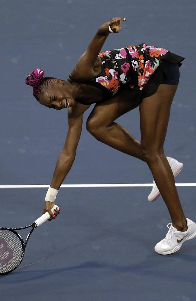 Venus Williams loses 3rd-set tiebreaker at US Open