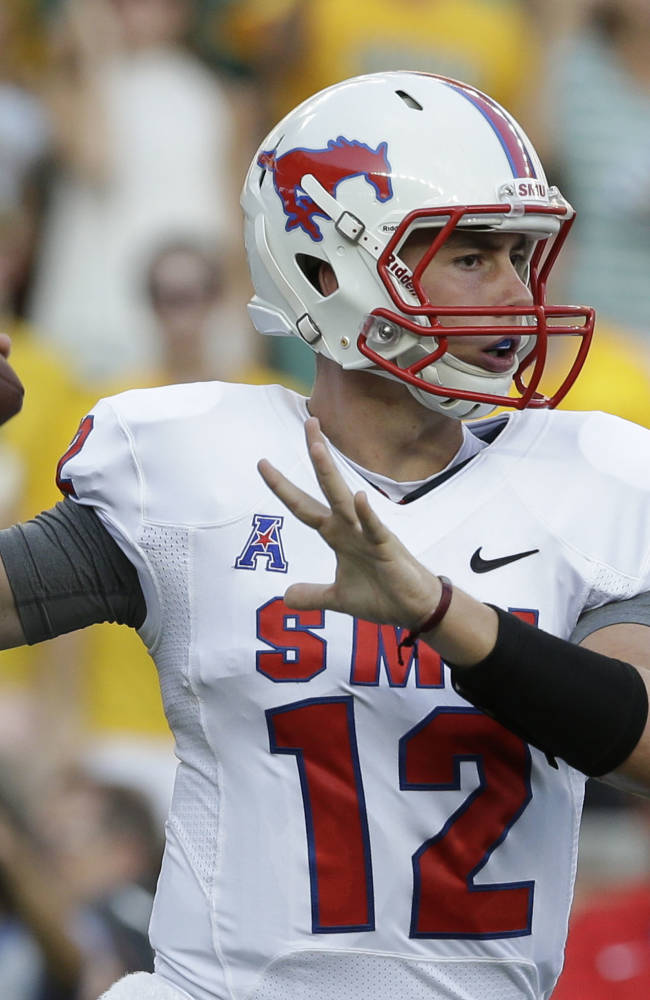 No. 10 Baylor opens stadium with 45-0 win over SMU