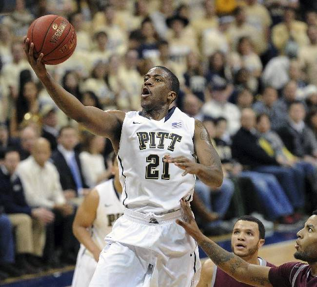 Pittsburgh's Lamar Patterson (21) drives to the basket during the first half of an NCAA college basketball game against Loyola Marymount on Friday, Dec. 6, 2013, in Pittsburgh. Pittsburgh won 85-68