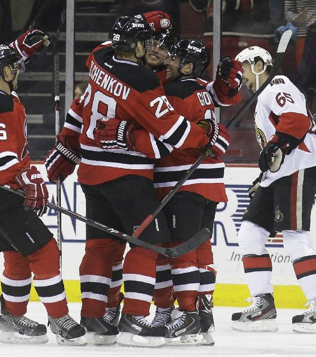 Jagr scores No. 693 in Devils' 5-2 win over Ottawa