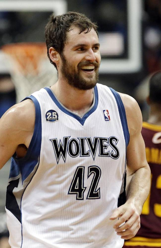 Kevin Love takes over in Minnesota