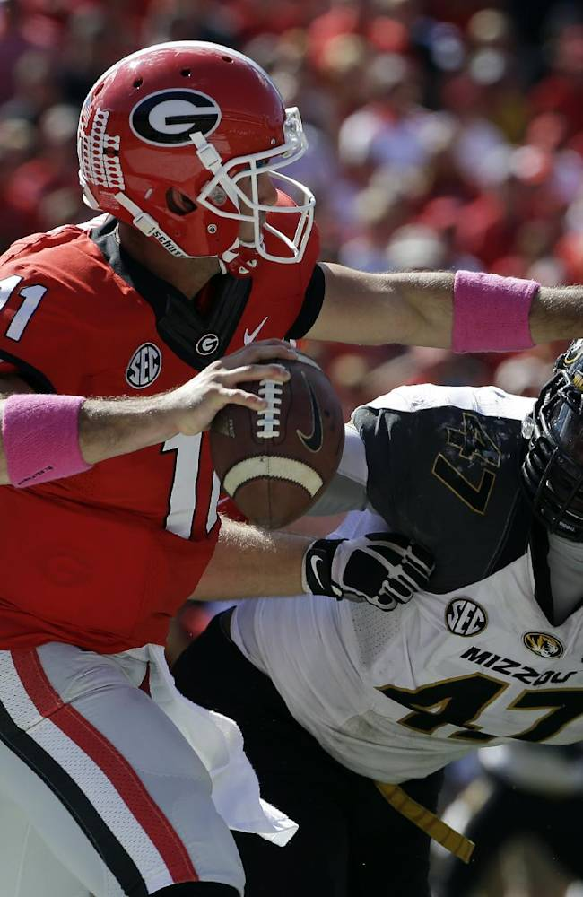Georgia's Richt says Gurley 'real close' to return